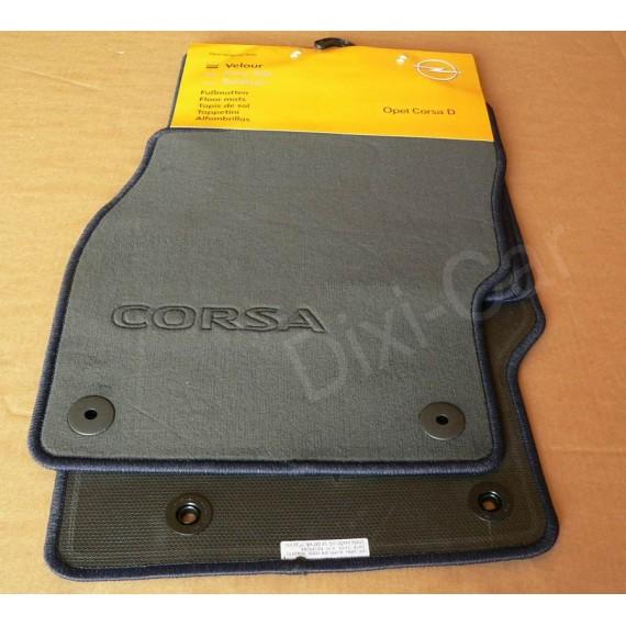 Originalus Opel Corsa D E kilimėlių komplektas