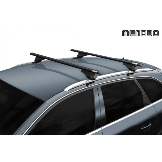 Stogo skersiniai Menabo Tiger XL Black