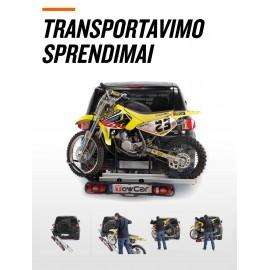 Motociklo laikiklis ant kablio Aragon TowCar Balance